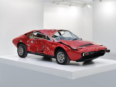 CONCEPT IN ART AND COMICS - Bertrand Lavier - Dino 1993 Damaged car